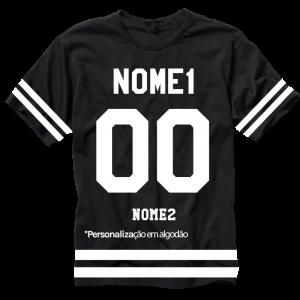 Camiseta Brooklyn team Algodão Personalização POP Scene