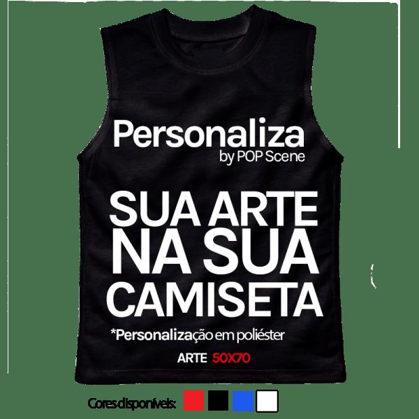 Personalize sua camiseta regata em Algodão