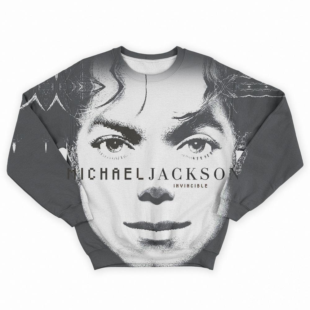 f477e572f4 Moletom Invincible - Michael Jackson - Loja Pop Scene