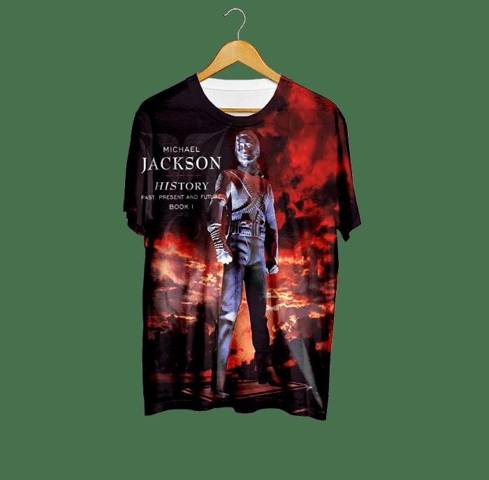 2f4048996f Camiseta HIstory - Michael Jackson - Loja Pop Scene