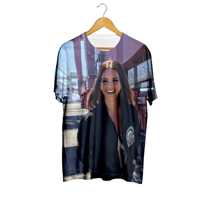 Camiseta Norman Places  - Lana Del Rey (cópia)