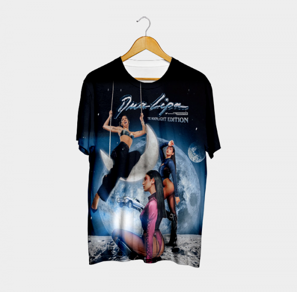 Camiseta Future Nostalgia The Moonlight Edition Queen - Dua Lipa