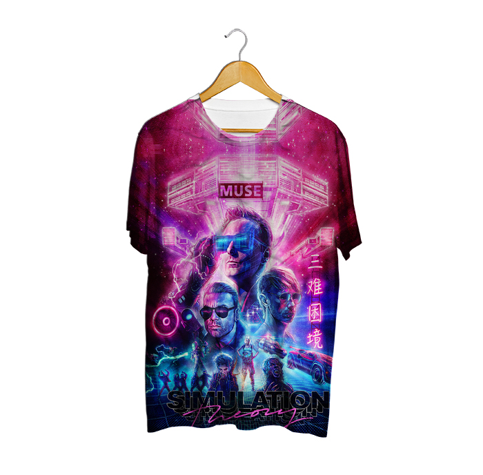 (PRONTA ENTREGA) Camiseta Simulation Theory - Muse