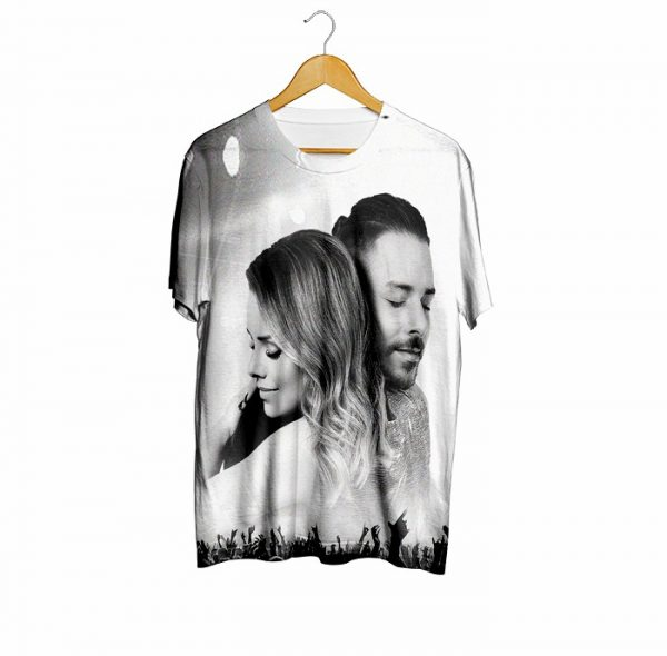 (PRONTA ENTREGA)  Camiseta Nossa Historia - Sandy e Junior
