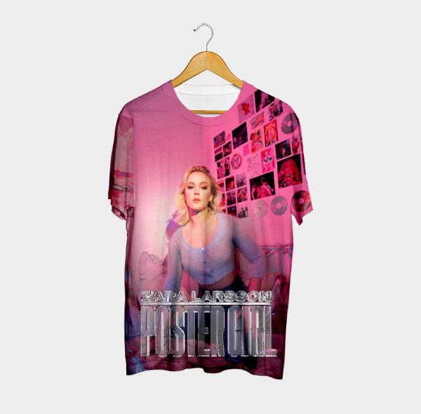 Camiseta `Poster Girl #2 - Zara Larsson