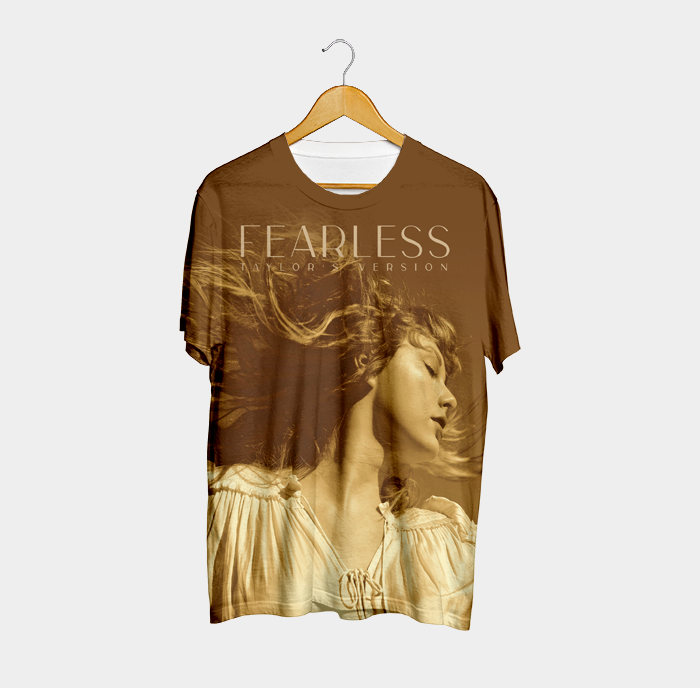 Camiseta Fearless Taylor's Version - Taylor Swift