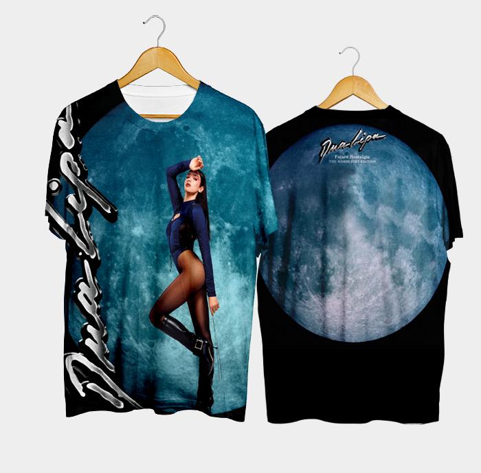 Camiseta Future Nostalgia The Moonlight Edition – Dua Lipa